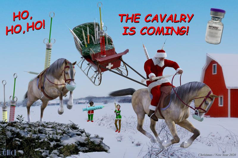 The Cavalry is Coming
