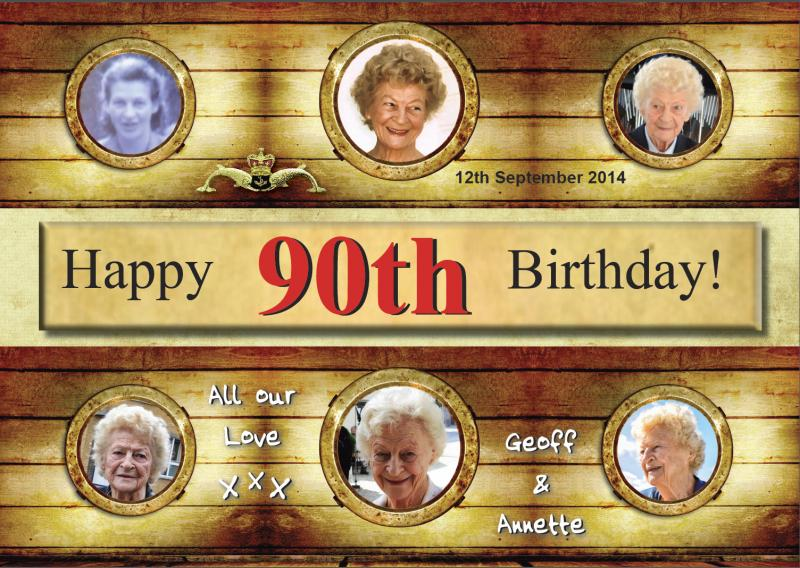 90th Birthday Greetings
