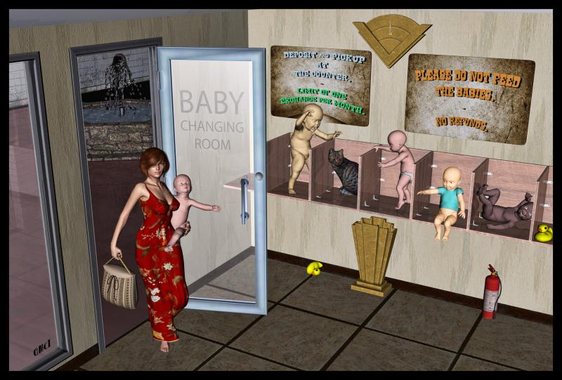 Baby-Changing Room