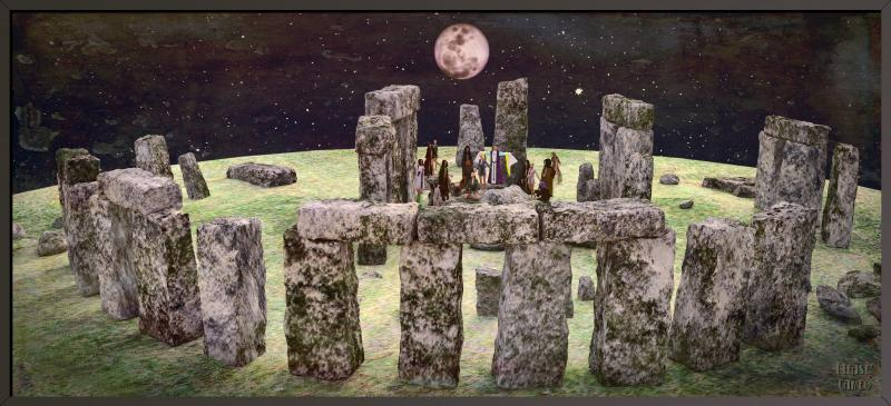 Stonehenge - Side-on