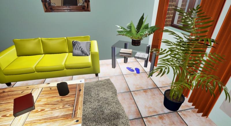 Gite Living Room