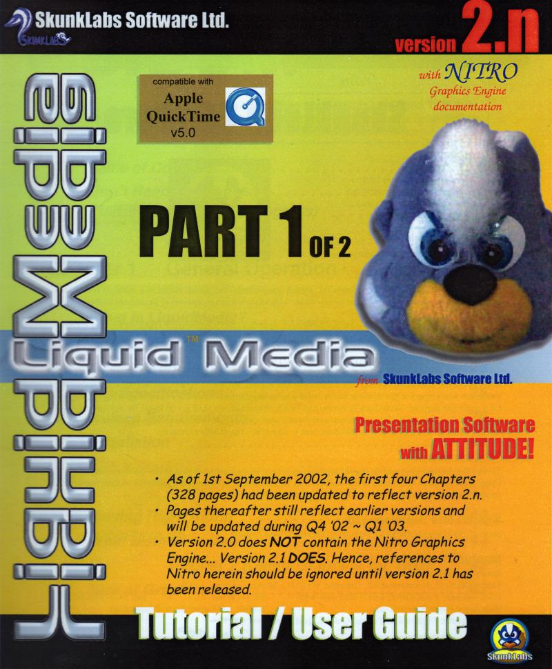 LM Tutorial-User Guide COVER Part 1 of 2 Scan - Lo-Res
